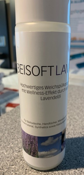 BEISOFT LAVENDEL Weichspüler - Konzentrat 250 ml - Lagerabverkauf