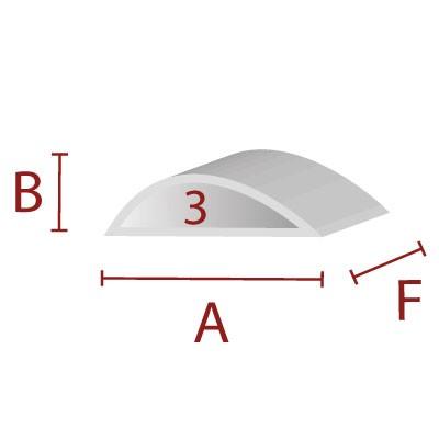 Anleimer 3 - Zuschnitt für Kanten / Sitzbereich