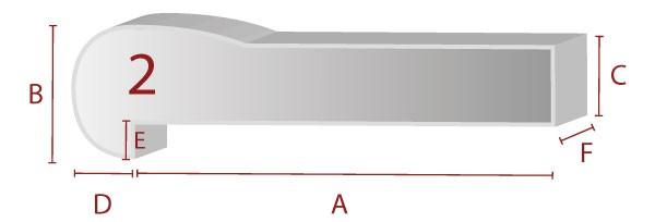 Ergonomische Sitzform 2 - Schaumstoff Zuschnitt