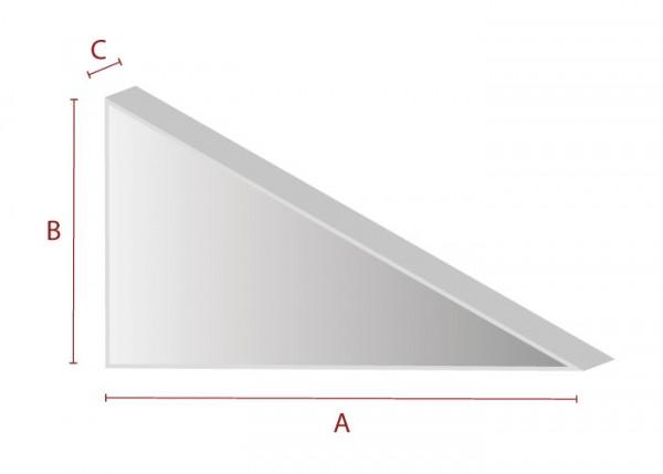 Individueller Zuschnitt - Dreieck
