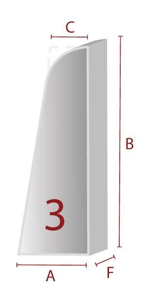 Zuschnitt für ergonomische Lehne - 3