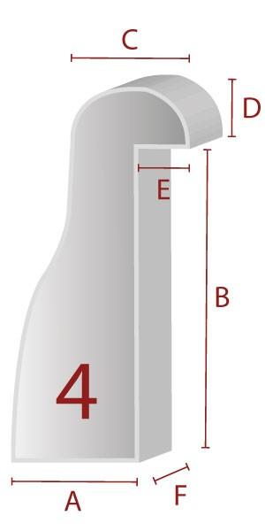 Zuschnitt für ergonomische Lehne - 4