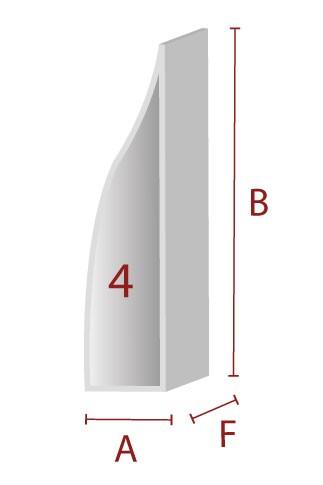 Anleimer 4 - Zuschnitt für Kanten / Sitzbereich
