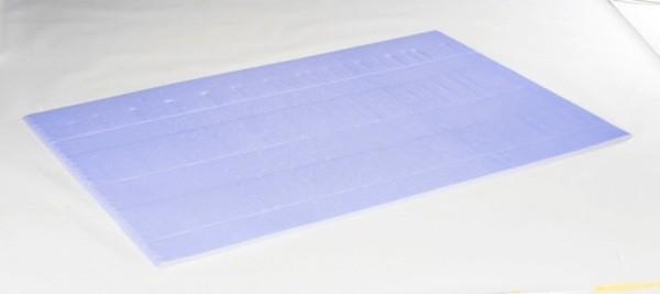 Stabile Anschnitt-/ Bodenplatte als Unterlage